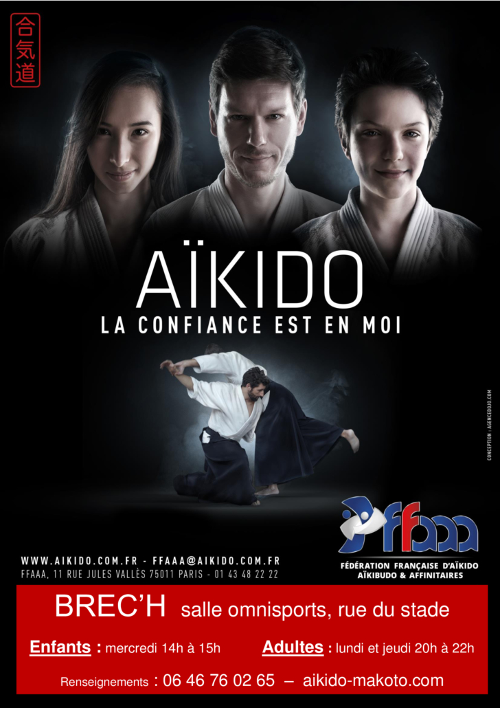 affiche Brech aikido
